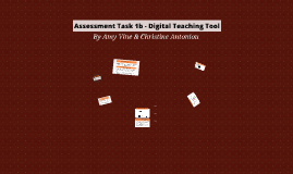 Assessment Task 1b - Digital Teaching Tool