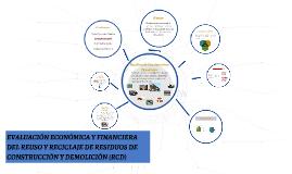 Copy of Copy of EVALUACIÓN ECONÓMICA Y FINANCIERA DEL REUSO Y RECICLAJE DE R