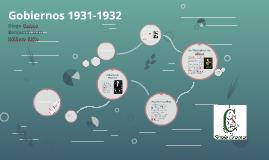 Gobiernos 1931-1932