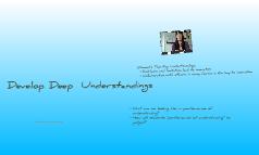 Performances of Understanding