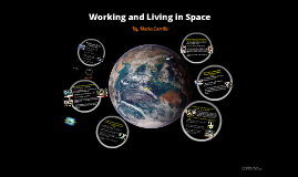 Working and Living in Space