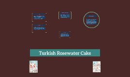 Turkish Rosewater Cake