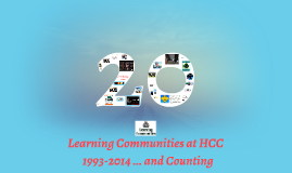 20 Years of Learning Communities
