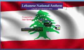 Copy of Lebanese National Anthem