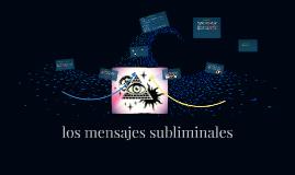 los mensajes subliminales