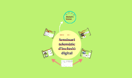 Sintesi del Seminari telemàtic d'inclusió digital