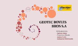 GEOTEC BOYLES BROS S.A