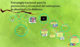 Estrategia nacional obesidad