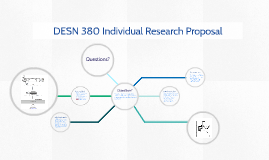 DESN 380 Individual Research Proposal