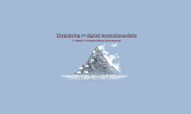 Utvärdering av Digitalt Innovationsarbete