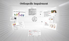 Copy of Orthopedic Impairment