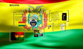 Bolivia y su historia