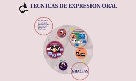 TECNICA DE EXPRESION ORAL