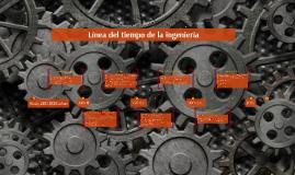 Línea del tiempo de la ingeniería