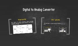 DAC (Digital To Analog Converter) adalah perangkat elektroni