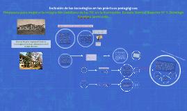 Copy of Inclusión de las tecnologías en las prácticas pedagógicas: