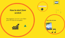 How to start from scratch