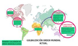 GLOBALIZACION ORDEN MUNDIAL ACTUAL.
