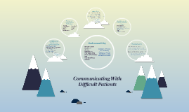 Communicating with Difficult Patients