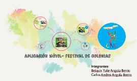 aplicacion movil festival de colonias