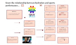 U11 A4 DAL - The relationship between hydration and sports performance