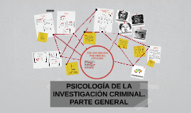 Copy of PSICOLOGÍA DE LA INVESTIGACIÓN CRIMINAL. PARTE GENERAL
