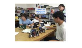 talleres de Video juegos y Robótica