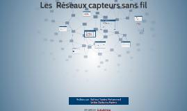 Copy of Copy of Les  Reseaux capteurs sans fil