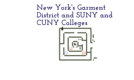 Garment District and SUNY and CUNY by Eric Mitchell III