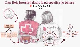 Cruz Roja Juventud desde la perspectiva de género
