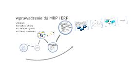 wprowadzenie do MRP i ERP