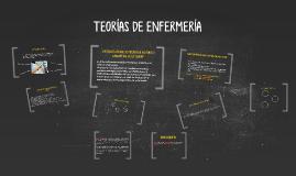 Copy of TEORIAS DE ENFERMERIA