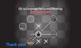Ch. 14 Language Policy and Planning