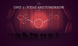 UNIT  5 : TODAY AND TOMORROW