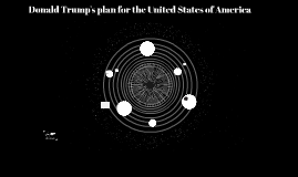 Donald Trump's run for the United States of America