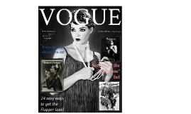 Fashion and Fads of the Jazz Age