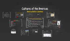 Cultures of the Americas