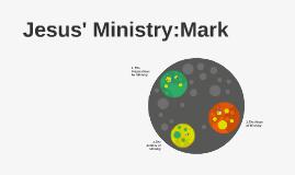 Jesus' Ministry:Mark