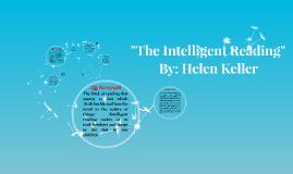 How was helen keller intelligent?