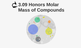 3.09 Honors Molar Mass of Compounds