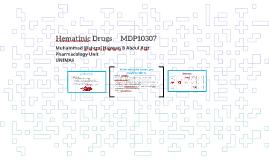Hematinics MDP10307
