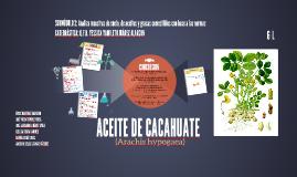 ACEITE DE CACAHUATE