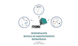 PRESENTACIÓN MODELO DE ABASTECIMIENTO ESTRATÉGICO