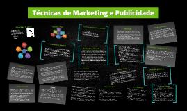 Técnicas de Marketing e Publicidade