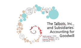 Copy of The Talbots, Inc., and Subsidiaries: