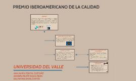 PREMIO IBEROAMÉRICANO DE LA CALIDAD