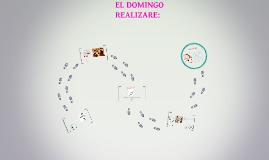 EL DOMINGO REALIZARE: