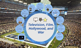 Television, Film, Hollywood and War