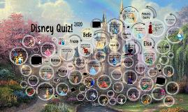 Disney Quiz!