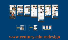Century College Redesign